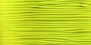 Elastic Cord Ø 1,2 mm / Colour no. 4206, Neon Yellow