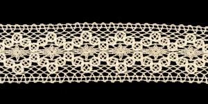 Puuvillane pits 1425-58 laiusega 5,5 cm, värv kreemjas