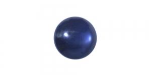 Tumesinine, pärlmutter plastiknööp kannaga, 13mm, SO296/222D
