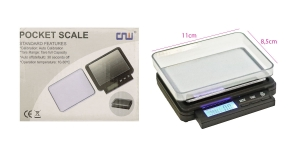 Electronic Digital Scale, up to 2000g, +/- 0,1g, TV2, KL1672