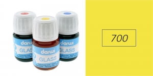 Klaasivärv Darwi Glass, 30ml, YELLOW 700