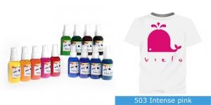 Spreivärvid kanga värvimiseks/ Fabric Paint Spray, 50 ml, Vielo, Värv:erkroosa, #503 Intense pink