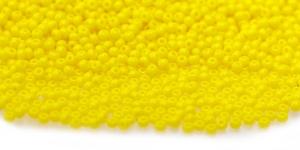 Terahelmed, seemnehelmed, Nr.11 (2-2.2 mm), Preciosa Kollased läbipaistmatudTerahelmed, HH85
