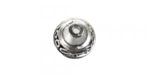 Ehtekübar Antiikhõbedane / Antique Silver Bead Cup / 13x12mm / EH46A