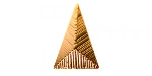 XX75 25x15x10mm Kuldne plastikneet