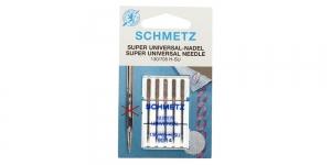 Super Universal home sewing machine needles, Schmetz No.90