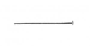Ehtenael Antiikhõbedane, Antique Silver Flat Head Pin, 30mm, ED56