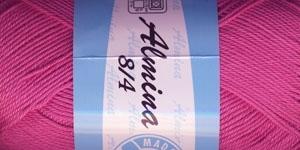 Puuvillane lõng Almina; Värv 5054 (Tumeroosa) / Madame Tricote