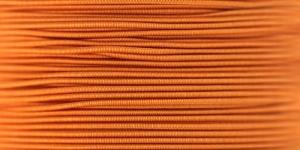 Elastic Cord Ø 1,2 mm / Colour no. 7353, Orange
