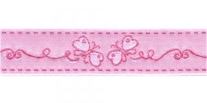 Liblikatega kaunistuspael 30mm, Art.43-PG, värv nr.4 roosa