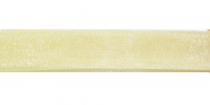 123 Helekollane organza pael 10mm-12mm