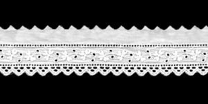 Кружево ришелье (лента бродери) I691-01, 3,5 cм