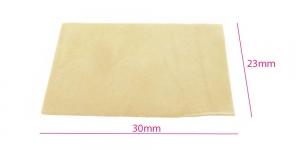 Pärlitöö alus 23 cm x 30 cm, helekollane, BO684