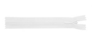 Õhuke peitlukk Opti 20cm, värv valge 1712