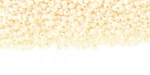 Terahelmed, seemnehelmed, Nr.11 (2-2.2 mm), Preciosa Kreemjasvalged läbipaistmatud kõrgläikegaTerahelmed, HC64