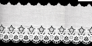 Broderie Anglaise Lace I809-01, 10 cm