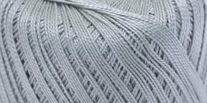 Pärlniit Perle 5 tikkimiseks ja heegeldamiseks; Värv 6621 (Helehall) / Madame Tricote