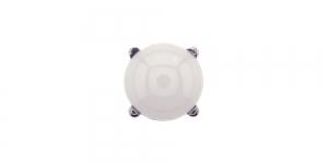 KN66/IR140 10mm Valge piimjas plastikkristall