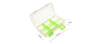 Lukustatav, reguleeritavate vahedega, kumerad põhjad, 15,5 x 9 x 4cm, Beadalon JA-BOX4