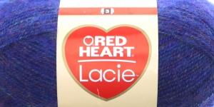 Siidjalt pehme akrüüllõng Lacie, Red Heart, värv nr. 4, koobaltsinine