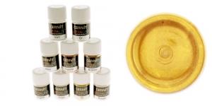 Pärlmutter- ja metallikefektiga pulber Cernit, 5g, Metallic Gold 050