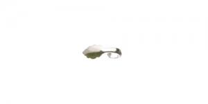 Liimitav medaljonitagune Hõbedane niklivaba, 16 x 6mm, EG27