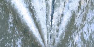Veniv sametkangas (veluur), hele sinakas-rohekashall, MR1031-021