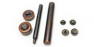 ø15 mm, 10 tk s-vedruga trukkide paigaldamise komplekt, ø15 mm, 10 tk, DY-RCPB-15