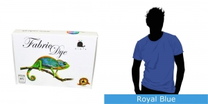 Vielo Washing Machine Fabric Dye, 200 g, Royal Blue