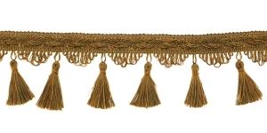 Kaunistuspael tuttidega / BPK-019 / Värv nr. PE-16/35, kuldjas helepruun oliivirohelisega