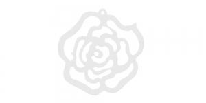 Valge puitdetail, 25 x 2mm, IO169