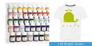 Fabric Paint Vielo, 50 ml #118 Bright Green