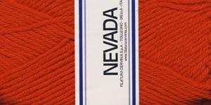 Poolvillane lõng Nevada; Värv 1209 (Puhas punane), Lane Cervinia