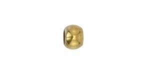 Kullatud ümar pärlipidur/helmes / 2mm / JFC1G-1Z