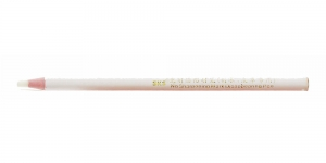 Pehme `söega` kaduva jäljega valge teritusvaba pliiats, KL1224