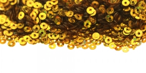 Kuldsed, ümara vormiga litrid, ø3mm, YB291