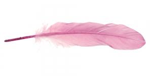 QK14 Roosakas helelilla sulg 14-18cm pikkusega