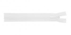 Õhuke peitlukk Opti 25cm, värv valge 1712