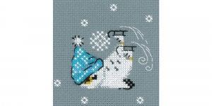 Cross-Stitch Kit: Skates, Riolis 1665