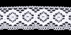 Cotton Crochet Lace 1820-01, 6,5 cm