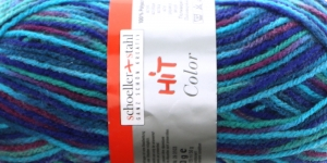 Acrylic Yarn Hit Color, Schoeller+Stahl / colour no. 105