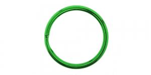 Kõrgläikega värvilised topelt metallrõngas, võtmerõngas ø30 mm, SHV25, KL0887, Roheline