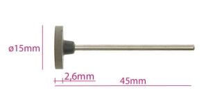 Ku mmist lihvimisketas, abrasiivketas keskmiselt abrasiivne, TM11-4