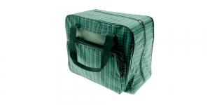Kandekott õmblusmasinatele roheline ruuduline, 20×30×40 cm, KL0606