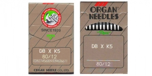Proffessionaalse tikkimismasina nõel, 10 tk, Organ DBxK5 Nr.80 (Size.12)F1