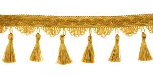 Kaunistuspael tuttidega / BPK-019 / Värv nr. PE-46, kuldne