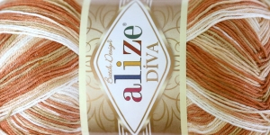 Diva Batik Design Yarn, Alize, Colour 7112