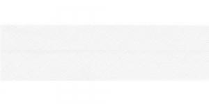 Diagonaalkant, puuvillane, 25mm, naturaalne valge, värv 100