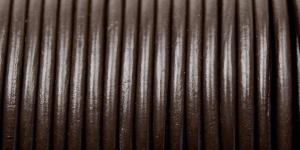 Nahkanyöri ø3 mm, tumma ruskea, Craft Factory CF06.303