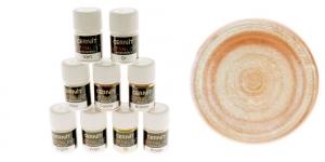 Pärlmutter- ja metallikefektiga pulber Cernit, 5g, Interference-green 600